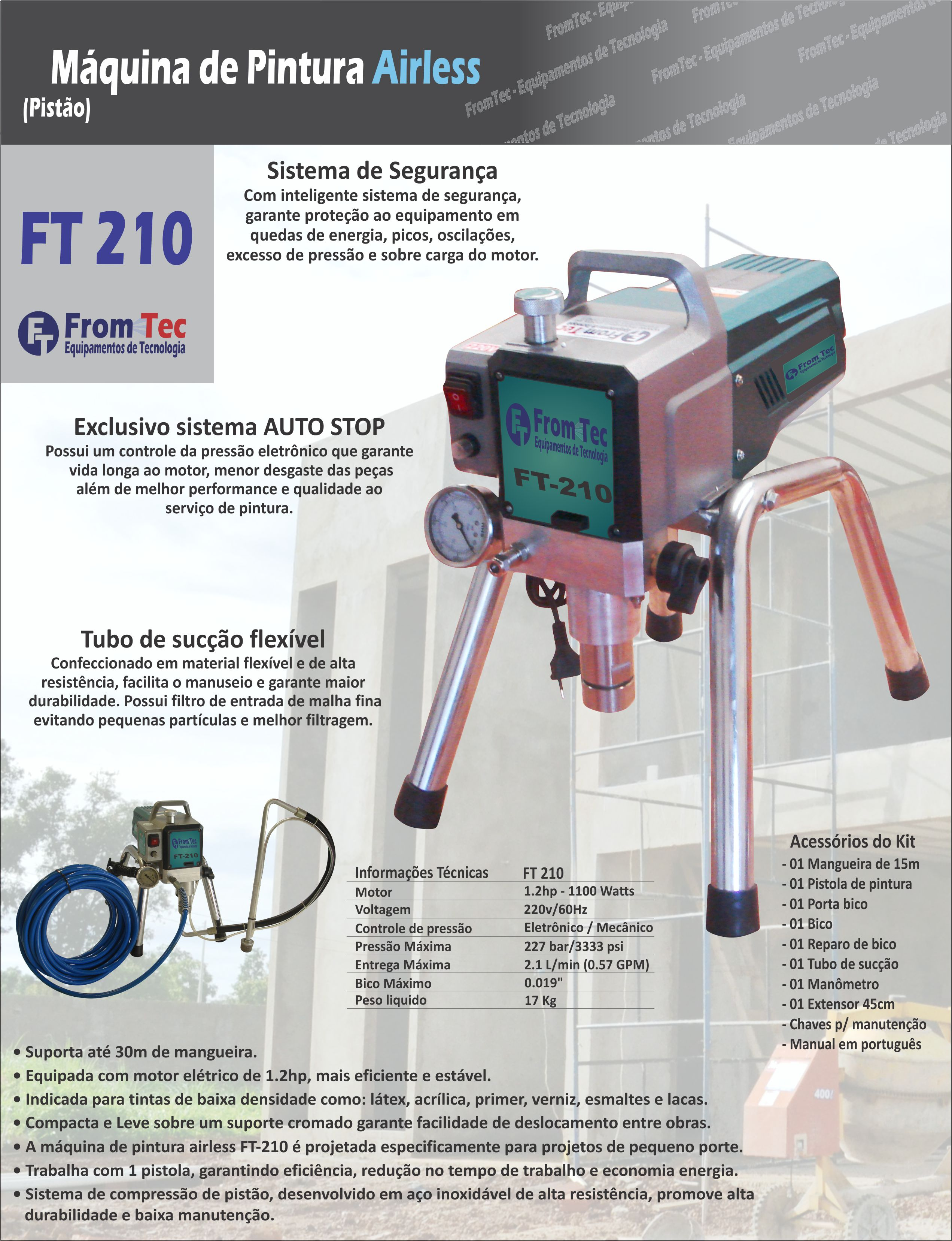 AIRLESS FROMTEC FT-210